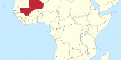 mali karte Mali Karte   Karten Mali (West Afrika   Afrika)